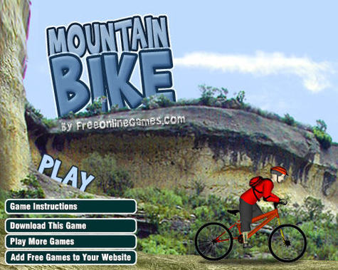 trail biking flash game